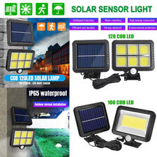 Solar LED Wall Light PIR MotionSensor Outdoor Garden Yard Security Lighting Lamp