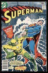 SUPERMAN (1939) #323 9.4 NM / VS ATOMIC SKULL COVER & STORY