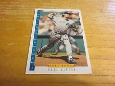 Doug Linton Autographed Signed 1993 Score #295 Card MLB Toronto Blue Jays