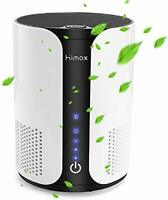 HIMOX Air Purifier for Home Allergies and Pets, True HEPA and Active Carbon