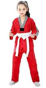 Unisex Taekwondo Uniform Gi Suit Beginners Karate Suit Martial Arts Sets Outfits