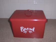 Vintage Look Metal Bread Box, - great display!