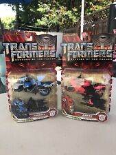Transformers ROTF movie deluxe  ARCEE & CHROMIA Lot