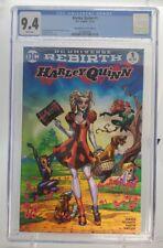 Harley Quinn 1 CGC 9.4 DC Rebirth VARIANT ECCC Wizard of Oz Amanda Conner Cover
