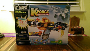 K'nex K-Force Build And Blast