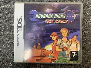 BOX ONLY Advance Wars Dual Strike Nintendo DS Box Only UK