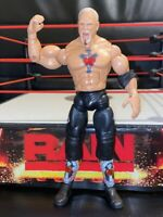 TNA SCOTT STEINER CROSS THE LINE 1 DELUXE JAKKS WRESTLING FIGURE WWE MATTEL WCW