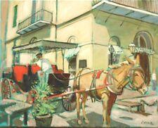 "TIM LAUER, ART, Manheim's, New Orleans, OIL & ACRYLIC, 16"" x 20"""