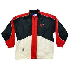 Chaqueta de Entrenamiento Chicago Bulls | Vintage 90s baloncesto de la NBA Sportswear XL De Colección