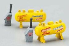 IMEX N SCALE SMALL PROPANE TANK  2/PK. RESIN BUILT-UP BUILDING