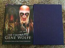 VERY BEST OF GENE WOLFE Wolfe 100 COPY SIGNED/LIMITED/ DELUXE SLIPCASED HC OOP