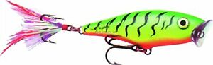 """Rapala SP05F Skitter Pop Topwater Lure, 2"""", 3/16 oz, Frog, Floating"""