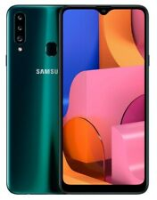 BRAND NEW SAMSUNG GALAXY A20S 2020 32GB/3GB (NON UK) UNLOCKED PHONE (GREEN)