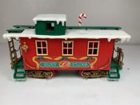 New Bright Logger Bears Express G Scale Christmas Caboose Train Part 1986