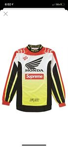 Supreme Honda Fox Racing Moto Jersey Deadstock