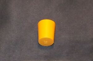 Stopper Rubber for Laboratory Use NEW Bung Bungs Solid or 1 / 2 Hole