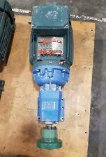 Reliance 1.5 HP 3ph P14G7530B-JH / Viking 11C-172-14 Gearbox Reducer  #3125SR