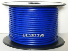 BLUE 12V Auto Primary Wire 18 Gauge 100' ft Car Boat Camper Power Hook Up Cable