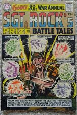 SGT. ROCK'S PRIZE BATTLE TALES #1 VG/FN 5.0 DC 1964