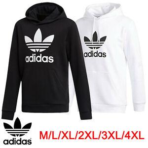 Adidas Men Women Originals Trefoil Pullover HOODIE - Thin Hooded Sweatshirt