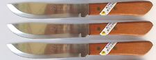 "3 x KIWI Brand Best Chefs 6"" Butcher's Knife Stainless Steel Knife, #246 NEW"
