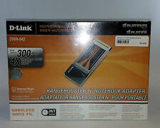 Rangebooster N, 300Mbps, Notebook Adapter DWA-642