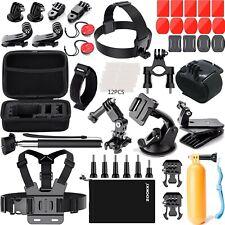 Kit De Accesorios De Camara De Accion 41 En 1 Para Gopro Hero Black Silver S...