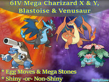 6IV Mega Charizard X & Y, Blastoise, Venusaur Pokemon Guide [Ultra/Sun/Moon]