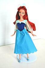 Disney Princess Little Mermaid Ariel Doll, in Blue Dress & Hair Bow