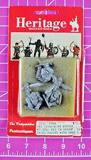 Heritage Miniatures 1152 Tasmainian Devils Der Kriegspielers Tasmanian 25mm Rare