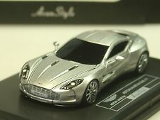 FrontiArt Aston Martin One-77, silber - 1/87