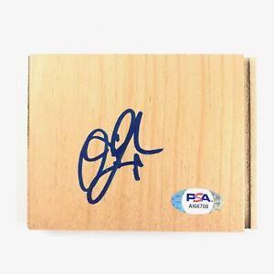 Devin Harris Signed Floorboard PSA/DNA Autographed Dallas Mavericks