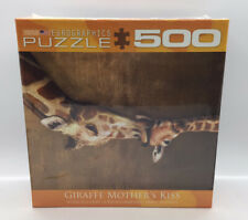 Eurographics GiraffeMpther's Kiss Jigsaw Puzzle 500 Pieces New Factory Sealed