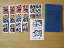 Stamp Collector's Stock Book, Unused Stamps, Elvis USPS Stamp Ballot