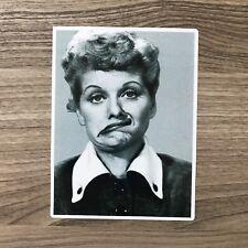 "I Love Lucy Lucille Ball 4"" Tall Vinyl Sticker - BOGO"