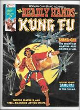 DEADLY HANDS OF KUNG FU #5 [1974 GD-VG] THROWING-STARS COVER!
