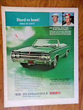 1965 Oldsmobile Olds 442 Convertible Ad  National Golf Day Venturi & Nichols Win