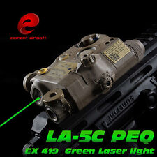 Airsoft Hunting SF Flashlight PEQ LA-5C UHP Green and IR Laser Tactical War Game