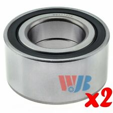 Pair of 2 New Front or Rear Wheel Bearing WJB WB511026 Interchange 511026 GRW192