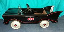 VINTAGE BATMAN 1966 BATMOBILE CUSTOM METAL PEDAL CAR TRI-ANG RARE OOAK