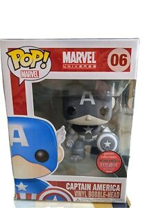 Funko Pop Captain America Black and White 240pcs variant Gemini Collectibles