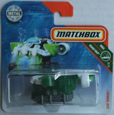 Matchbox Sub Seeker U-Boot weiß/grün/dunkelgrau Neu/OVP Submarine Mattel MBX