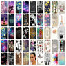For iPhone 5S SE 6 6S 7Plus 8Plus X Pattern TPU Phone Case Cover Back Protector