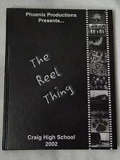 2002 Phoenix JANESVILLE, WI Joseph A CRAIG High School YEARBOOK/Annual HS HC EX