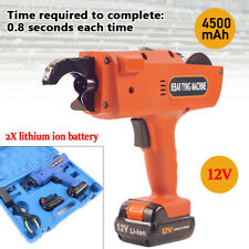 Automatic 8 34mm Rebar Tier Handheld Tying Reinforcing Steel Strapping Machine