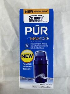 PUR Max Ion Pitcher Replacement Filter Single Pack