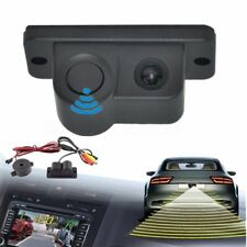 2in1 170° LCD Car Reverse Radar Rear View Backup Camera Parking Radar Sensor Kit