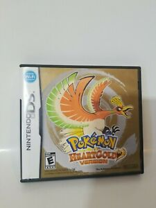 Pokemon: HeartGold Version (DS, 2010) Authentic, NOT FOR RESALE VERSION.