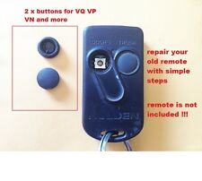 2 X Buttons repair set for Holden VP VR Calais VQ Statesman VN REMOTE TOYOTA