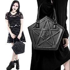 Killstar Pentacle Handbag Hexagon Satchel Gothic Lolita Pentagramm Shoulder Bag